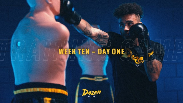 Week 10 – Day 1