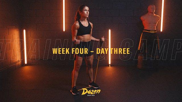 Week 4 – Day 3