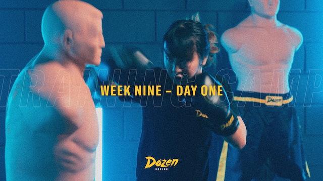 Week 9 – Day 1