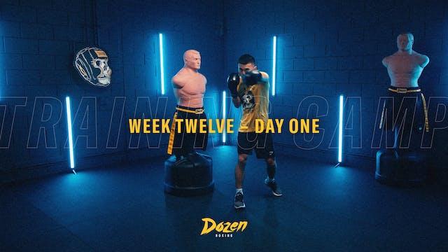 Week 12 – Day 1