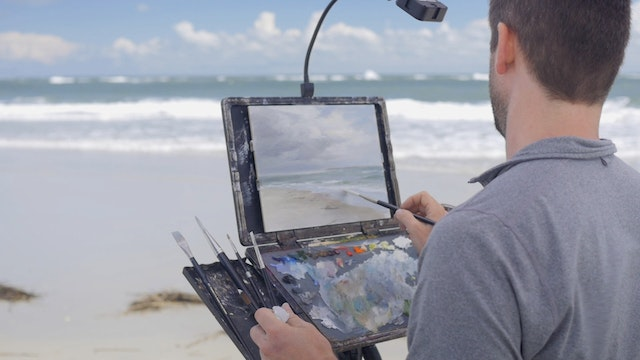 Essentials of Plein Air Seascape Painting with Louis Carr