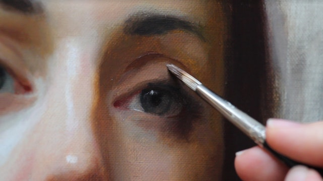 The Layers Of Portrait Painting, Joshua LaRock