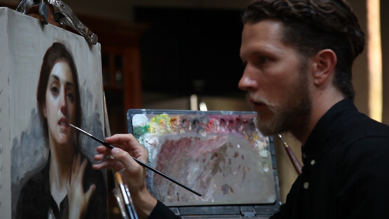 Layers of Portrait Painting with Joshua LaRock