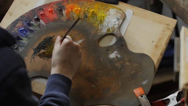 Painting Glass Day Three