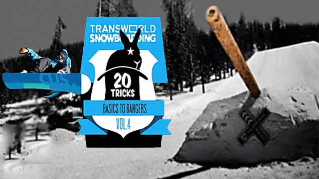 Transworld Snowboarding 20 Tricks, Vol. 4