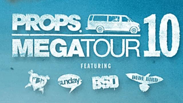 Props BMX: Megatour 10