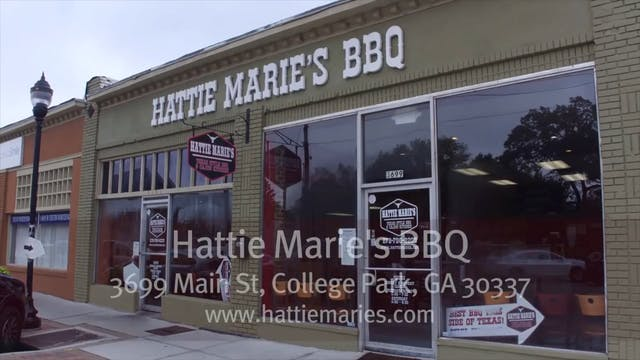 Hattie Maries BBQ in Atlanta