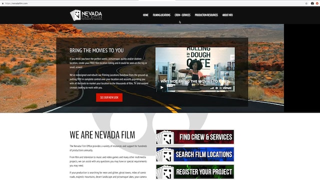 Nevada Film Office Production Directory