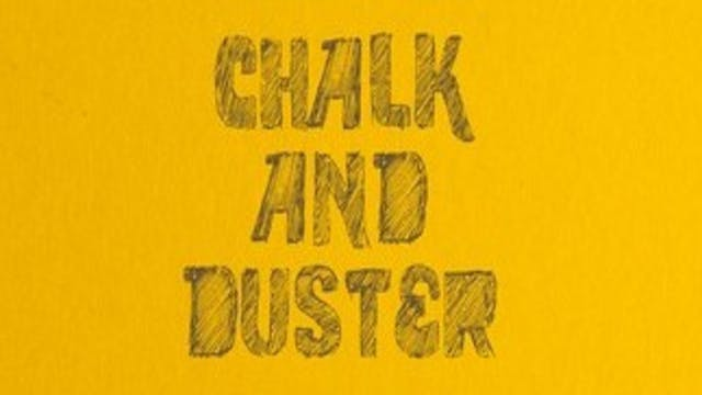 Chalk and duster