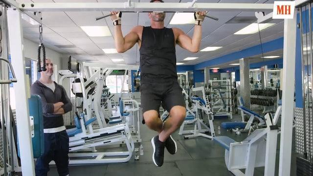 Train like Tom Ellis from Lucifer