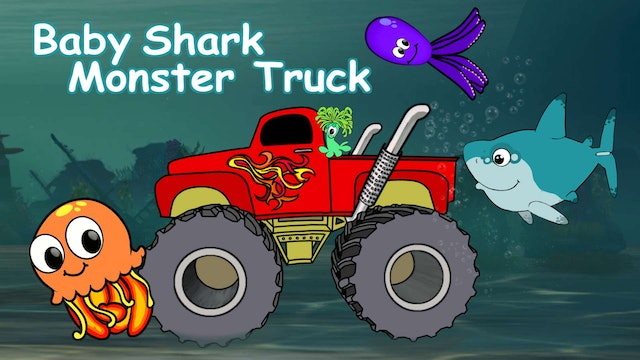 Baby Shark Monster Truck