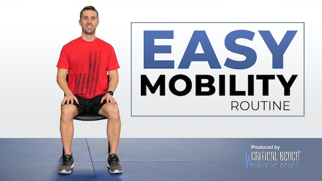Easy Mobility Routine