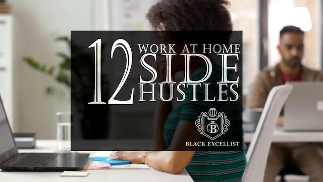 BE_List of Work at Home Side Hustles