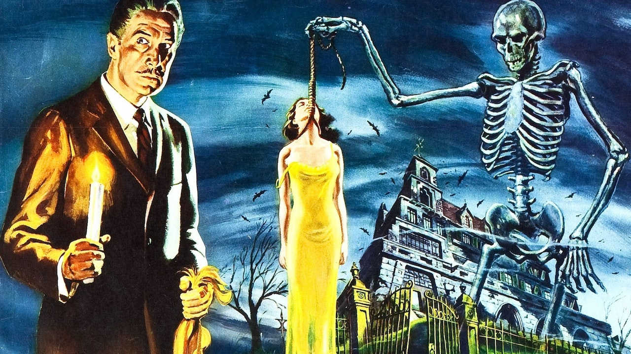 House on Haunted Hill (1959) Colorized