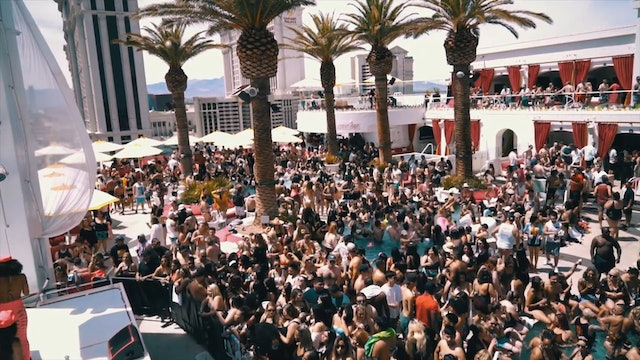 Drai's Beach Club in Las Vegas