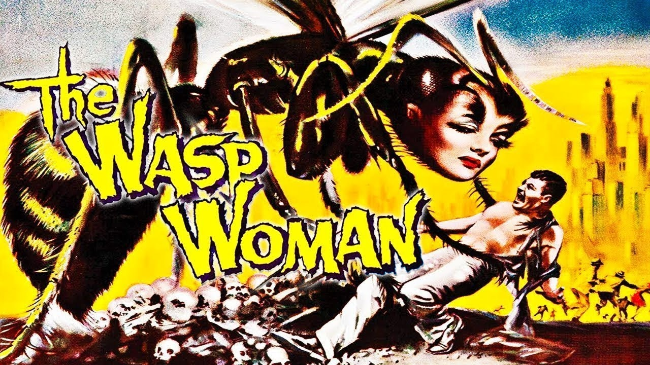 The Wasp Woman (1959) Colorized