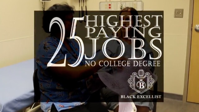 BE_Top Jobs without 4 Year College Degree