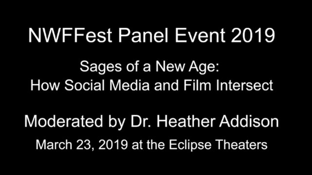 NWFFest_Panel discussion on How Social Media & Film Intersect (2019)