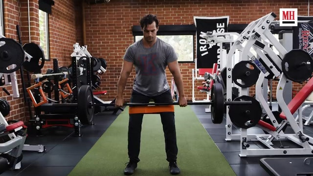 Train like Henry Cavill from Withcer