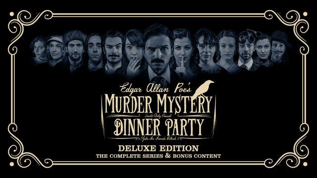 Edgar Allan Poe's Murder Mystery Dinner Party: Deluxe Edition
