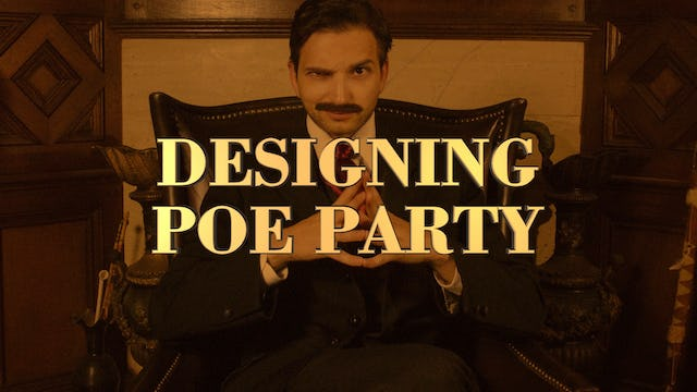 Designing Poe Party