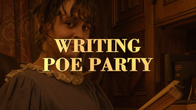 Writing Poe Party