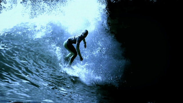 Cold Water Surf Action In Scotland