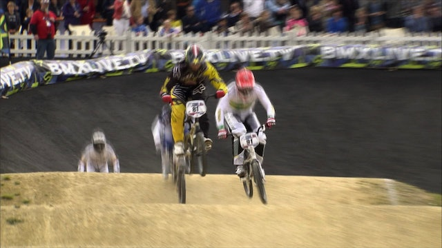 UCI BMX Action in Papendal, Netherlands