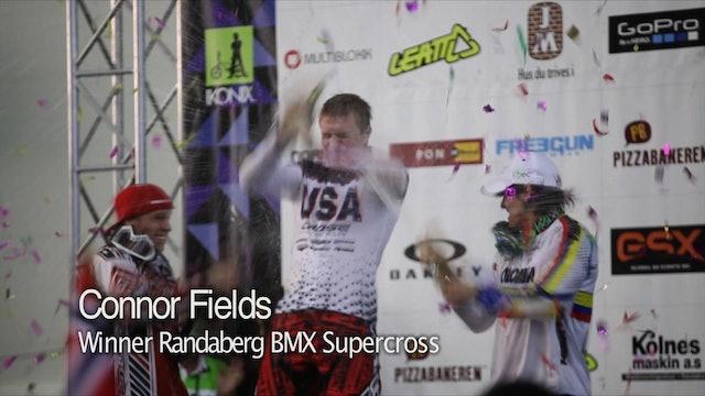 UCI BMX Action in Randaberg, Norway