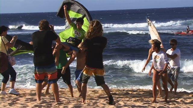 Kiteboard Maui Mens Action
