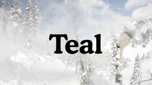 Teal trailer