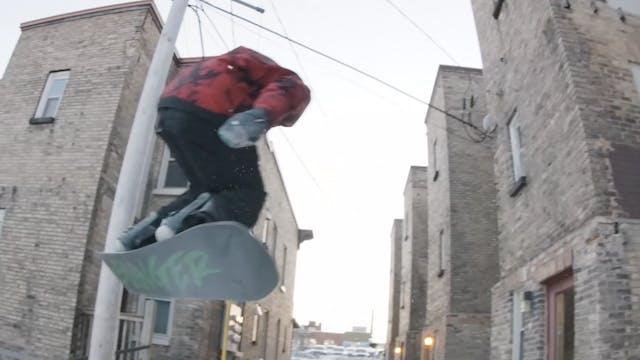 Chris Corning: Gauntlet rail