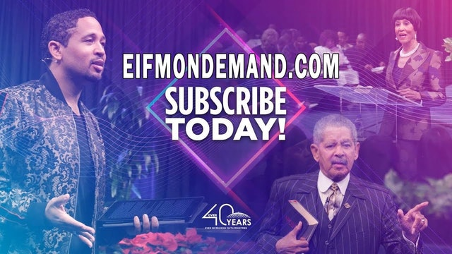 CCC Sunday Service - Sep 22, 2019 - Pastor Fred Price Jr.