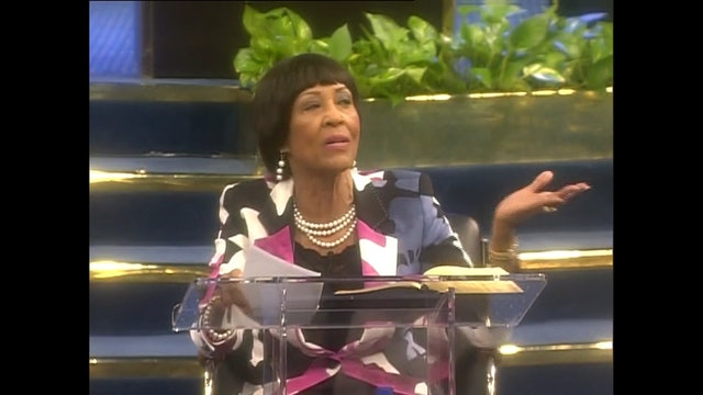 The Rich and Faithful in Christ - Dr. Betty Price - BPRF02, Part 2