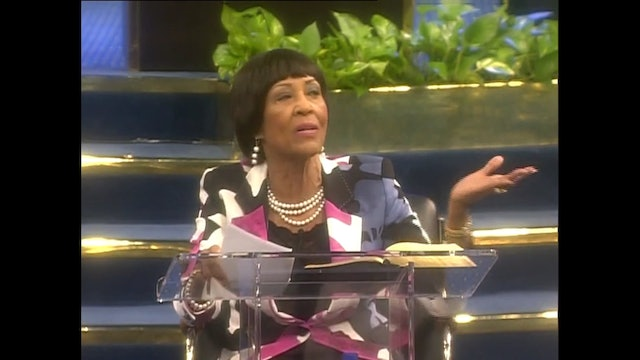 The Rich and Faithful in Christ - Dr. Betty Price - Part 2