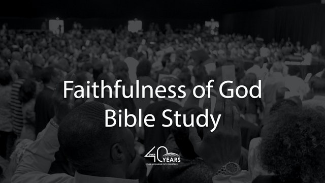 Faithfulness of God - Apostle Fred Price