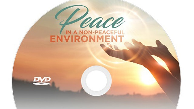 Peace in a Non-Peaceful Environment - Dr. Betty Price