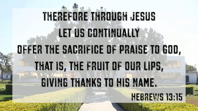 CCC Sunday Service - Aug 4, 2019 - Pastor Fred Price Jr.