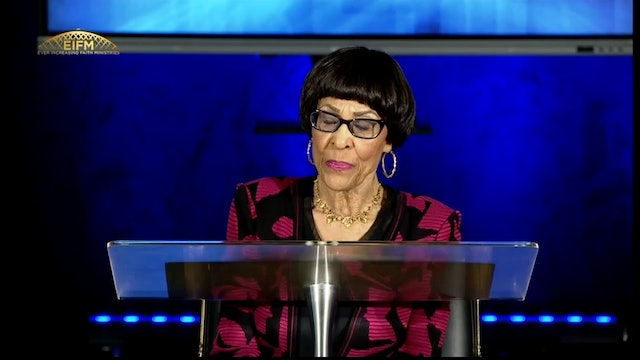 CCC Sunday Service - Walking in the Spirit - Dr. Betty Price- 07-11-2021