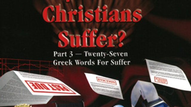 Why Should Christians Suffer