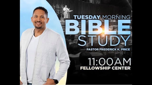 CCC Tuesday Morning Bible Study - Sep...