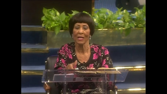 The Rich and Faithful in Christ - Dr. Betty Price - BPRF01, Part 1