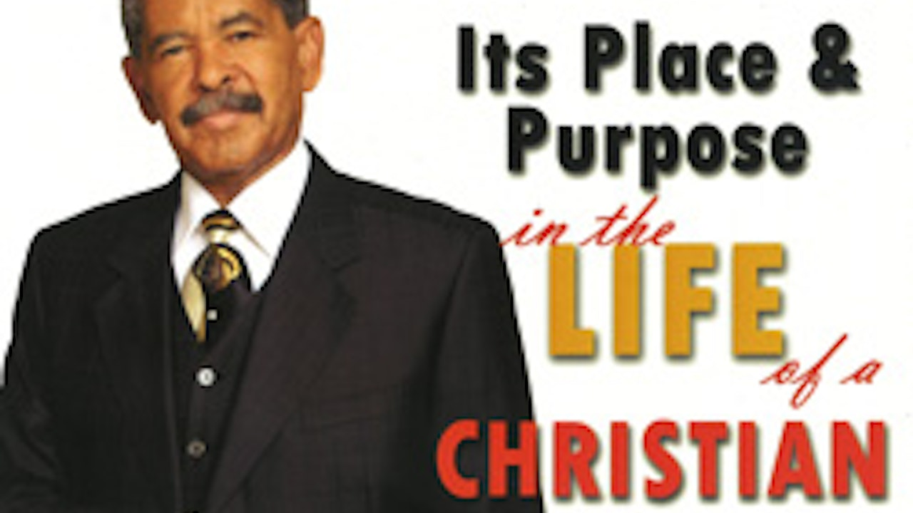 Prosperity - It's Place and Purpose in the Life of a Christian