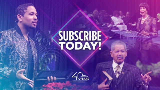 Live Tuesday Morning Bible Study Service