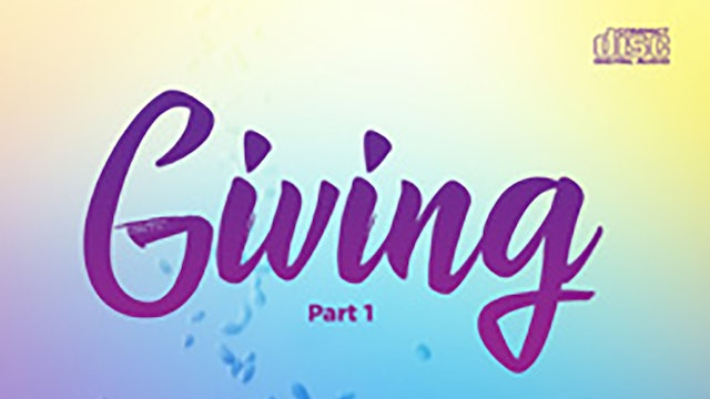 Giving - Pastor Fred Price Jr.