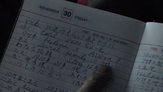 Elena num diário japonês