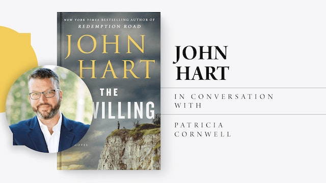 Bookmarks presents : John Hart in conversation with Patricia Cornwell
