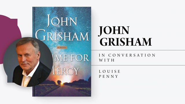 Bookmarks Presents Lunch with John Grisham & Louise Penny