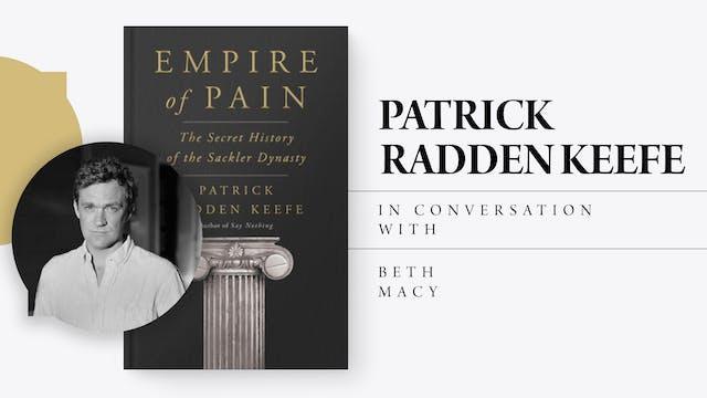 In Conversation : Patrick Radden Keefe