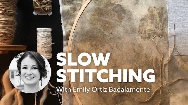 Sawtooth: Slow Stitching